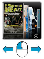 Movie Trailer News Windows Gadget - Use Mouse Drag The Image To Move